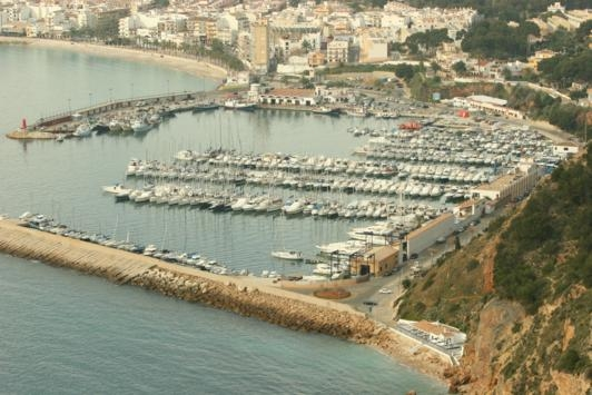Javea's Port Area