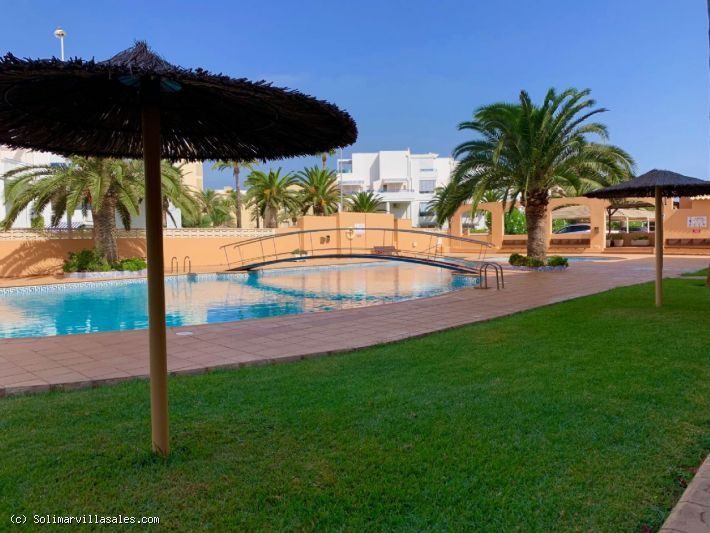 First line apartment for sale in Las Marinas, Denia