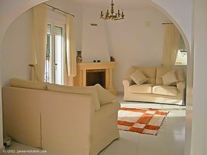 A  villa for sale in Moraira