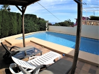 Beautiful villa with sea views for sale in Denia